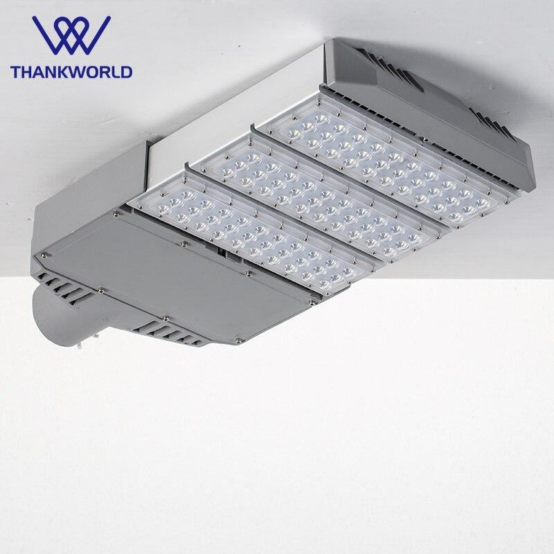 LED gade lys 90w Aluminium vejlampe bridgelux leds gadebelysning Modul Gade lamper til carport Udendørs ledet lys ip65 vw