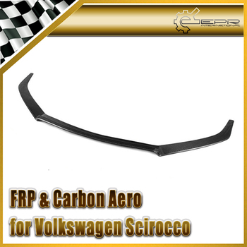 Car Styling For VW Scirocco Karztec Style Carbon Fiber Front Upper Lip