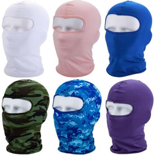 Klug Balaclava Full Face Maske Motorrad Ski Neck Gesicht Schutz Außen Helm Masken GroßE Vielfalt
