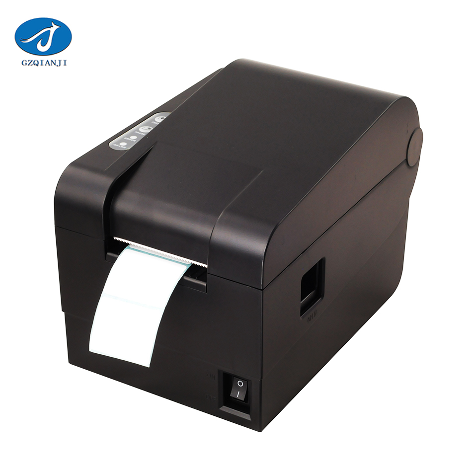 GZL2001 2 inch Thermal barcode label printer Sticker Paper USB Receipt printer Qr code Printer can print 20mm-56mm width paper