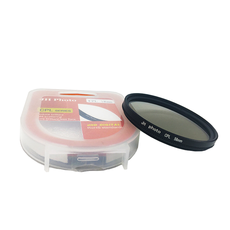 CPL polarizer 37/ 40.5 / 43/46/49/52/55/58/62/67/72/77 / 82MM Camera Filters ...