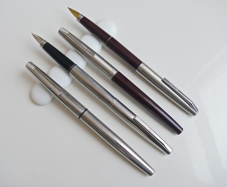 Accidnetal classic 443 steel dagger iridic gold fountain pen  FREE shipping fountain pen gold fountain pen pen fountain pen - title=