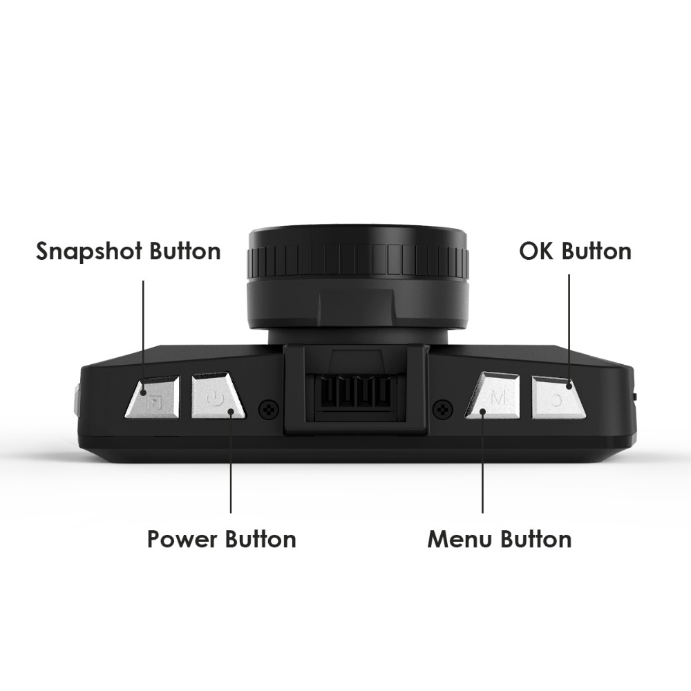 Vantrue X1 Dash Cam 2.7 Video Recorder FHD 1080P Car DVR Camera, Loop Recording, Packing Mode, Night Vision, G-Sensor with GPS (9)