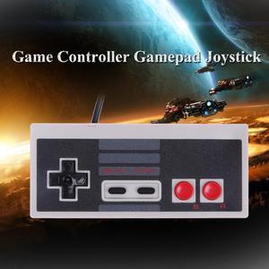 Image 3 - Spiel Controller Wired Joypad Gaming Controller Mini Klassische Stecker und Spielen Gamepad Joystick für Nintendo NES Klassische Spiel