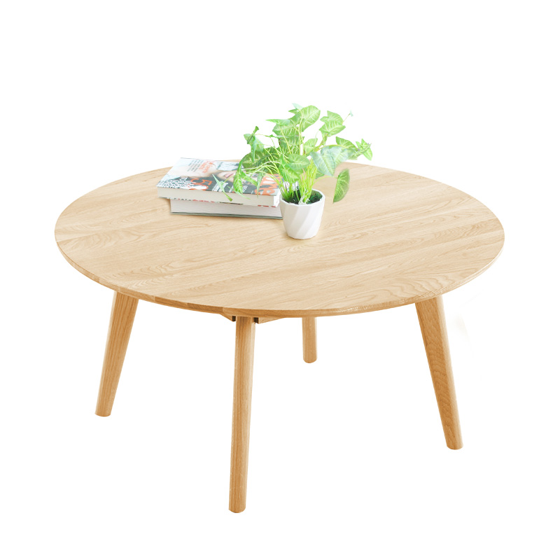 petite taille table basse nordique simple table basse ronde style