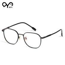 9297373ef جديد أزياء النساء المعادن عالية الجودة البصرية الكامل نظارات إطار الرجال  النظارات إطارات خمر نظارات #20024