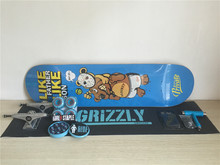2016 Complete Set Skateboard Private Decks Union Trucks Girl Wheels & ABEC-3 Bearings with Accessories for Skateboarding