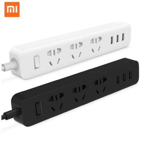 Original Xiaomi Power Strip mi Smart Home Electronics Charging 3 USB 2.0 Interface Extension Socket Plug / EU UK US AU Adapter