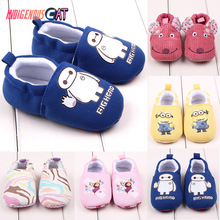 цена на Baby Shoes Girls Boy First Walkers Newborn Slippers Baby Girl Crib Shoes Footwear Booties 0-18M