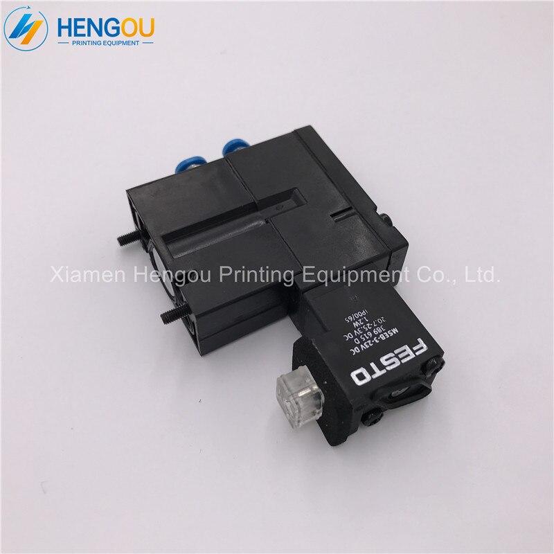 1 pièce SM52 PM52 SM74 SM102 CD102 Impression Machine Électrovanne MEBH-4/2-QS-4-SA M2.184.1111/05 réductions Limites