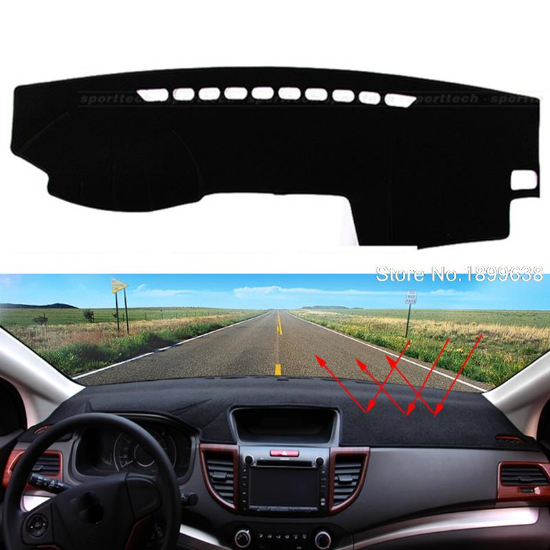 Car dashboard Avoid light pad Instrument platform desk cover Mats Carpets Auto accessories for toyota prado 2004 - 2015 dashboard cover