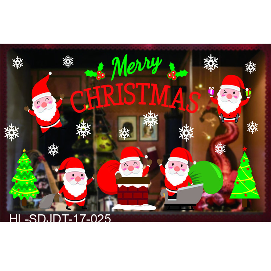 Aliexpress.com : Buy Merry Christmas Household Room Wall Sticker ...
