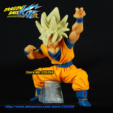 Anime japonês Dragon BALL Dragon Ball Z/Kai Genuine Original BANDAI Gashapon HG PVC Brinquedos Figura 21 Son Goku Super saiyan(China)