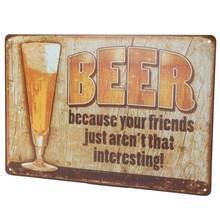 Beer Metal Poster
