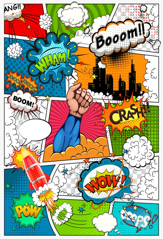 Laeacco Comics Super Hero Baby Children Party Photography Backgrounds Customized Photographic Backdrops Props For Photo Studio