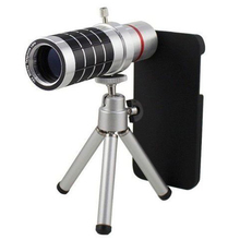 Best price HD Universal 16X Telephoto Telescope Zoom Camera Mobile Phone Lens With len Case for iPhone 5s 6 6 7 plus for Samsung s6 s7 edge