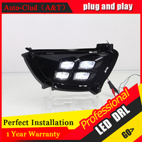 Auto Clud Car Styling For Kia Sportage R LED DRL For Sportage R Led Fog Lamps