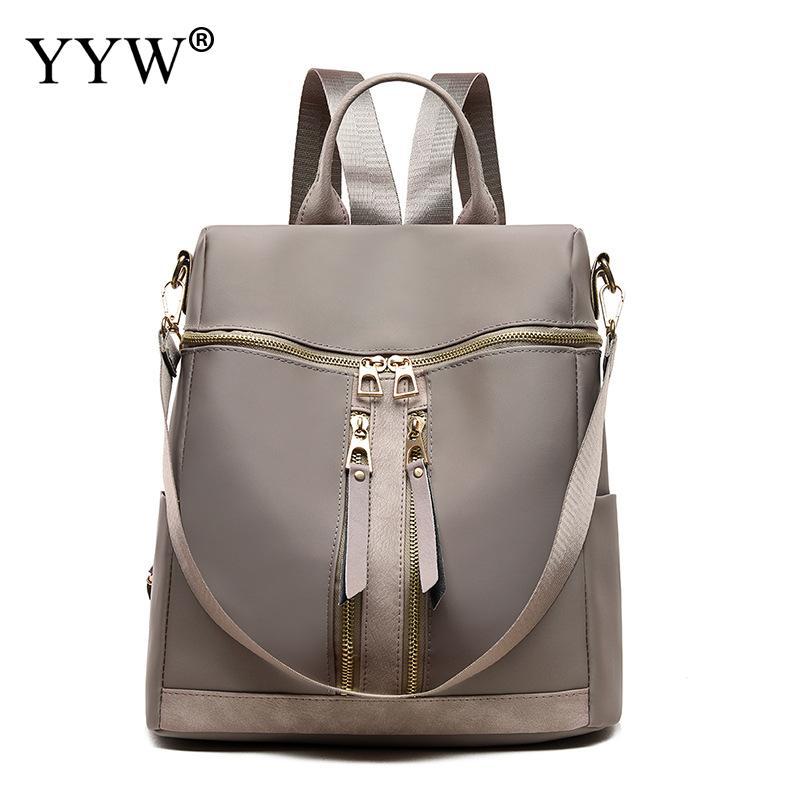 Waterproof Backpack Mochilas School-Shoulder-Bag High-Quality Fashion Women For Feminina