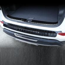 Automovil Automobile Rear Panels Trunk Foot Pedal Exterior Fashion Parts Accessories Car 15 16 17 18 19 FOR Hyundai Tucson