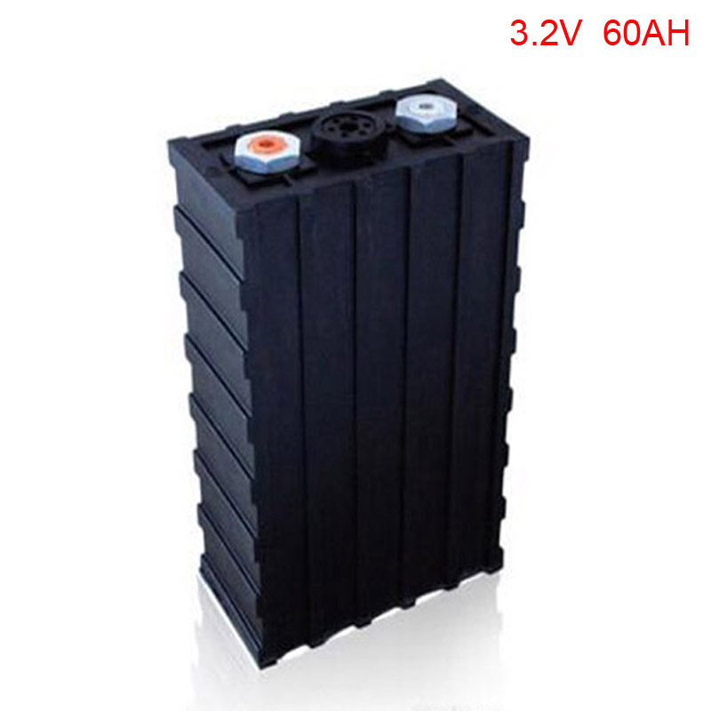 4pcs/lot 3.2V 60Ah LiFePO4 battery for LED, Solar light, storage system,ups ,golf car ,electric bike ,electric car