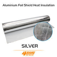 Aluminium Foil Shield Heat Insulation Low Penetration rate Aluminum Foil ceiling roof wall floor attic garage door 100cm*500cm