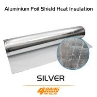 Aluminium Foil Shield Heat Insulation Low Penetration rate Aluminum Foil ceiling roof wall floor attic garage door 100CM*500CM