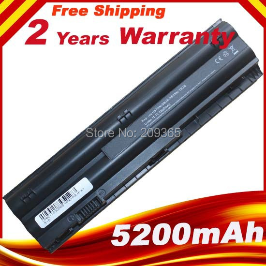 5200mAh New Replacement Laptop Battery for HP Mini 110 Mini 210 -3000 Pavilion dm1-4000 646657-251,A2Q96AA,646757-001,646755-001