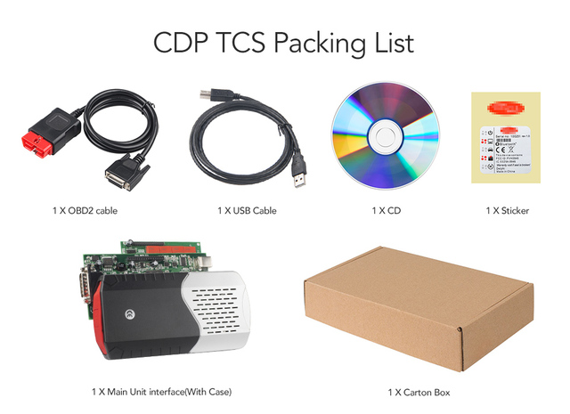 CDP TCS V3.0 board WOW cdp OBD2 car truck tcs cdp tcs pro NEC relay Bluetooth obd ii scanner 2016 software auto diagnostic tool