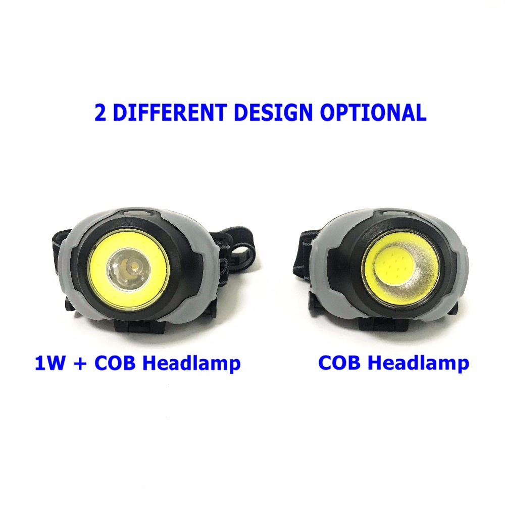 [MingRay]3xAAA Mini COB Headlamp powerful led Headlight Camping Lantern waterproof Flashlight on head for fishing ridding for all cars courtesy lights &angel wings spotlight universal fit for car door welcome light projector light ghost shadow puddle