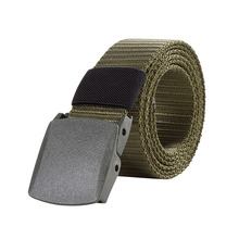 125CM Marine Corps Tactical Belts Military Canvas Belt For Mens Buckle Belts Nylon Outdoor Sports Ceinture