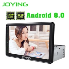 JOYING 2GB 32GB GPS Navigation Universal Single DIN 8 Android 8 0 Car Radio Stereo Head