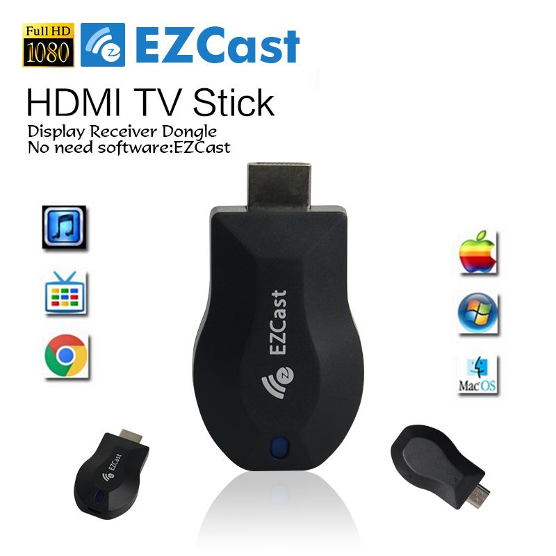 EZCAST M2 Ecast Tv Bâton 1080 p Hdmi Miracast Hlna Airplay Wifi...