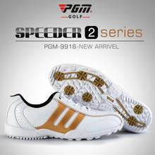 Specjalny impuls! Oryginalne buty golfowe PGM męskie buty sportowe oddychające antypoślizgowe 6 kolorów tanie tanio Golf Shoes Dorosłych Gumowe Średni (B M) Professional Oddychająca wodoodporna Spring2018 Sznurowane 2018053100 Mężczyzn