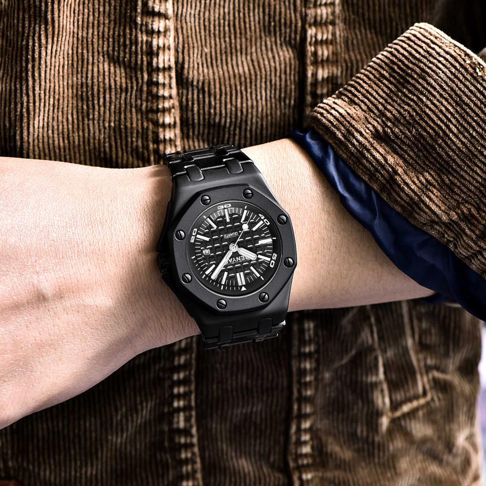 Montres pour hommes BENYAR 2019 nouveau Top marque de luxe mode montre à Quartz hommes étanche en acier décontracté sport horloge Relogio Masculino