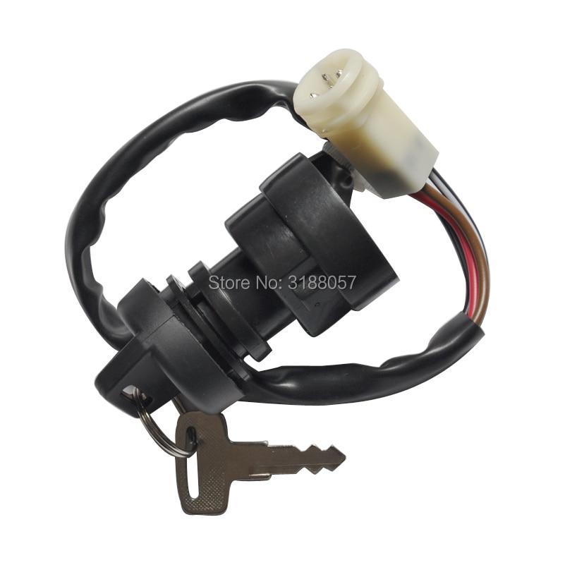 Ignition Key Switch Yamaha YFM YFA YFZ 80 100 125 225 250 350 Breeze Champ Moto