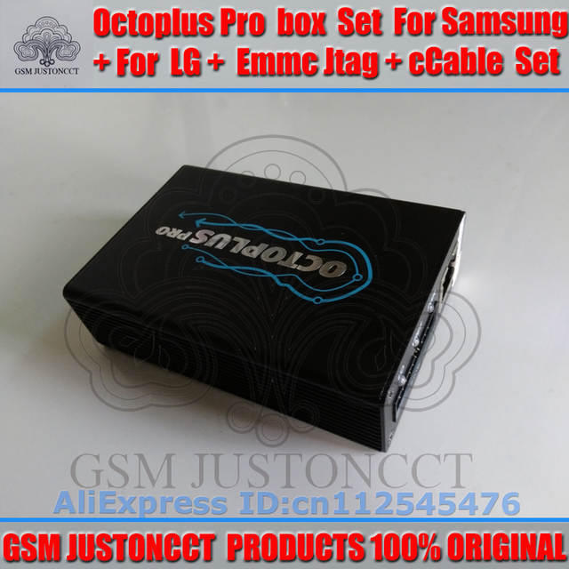 US $316 0 |gsmjustoncct Octoplus pro Box for Samsung for LG + JTAG  Activated with 19cables-in Telecom Parts from Cellphones &  Telecommunications on