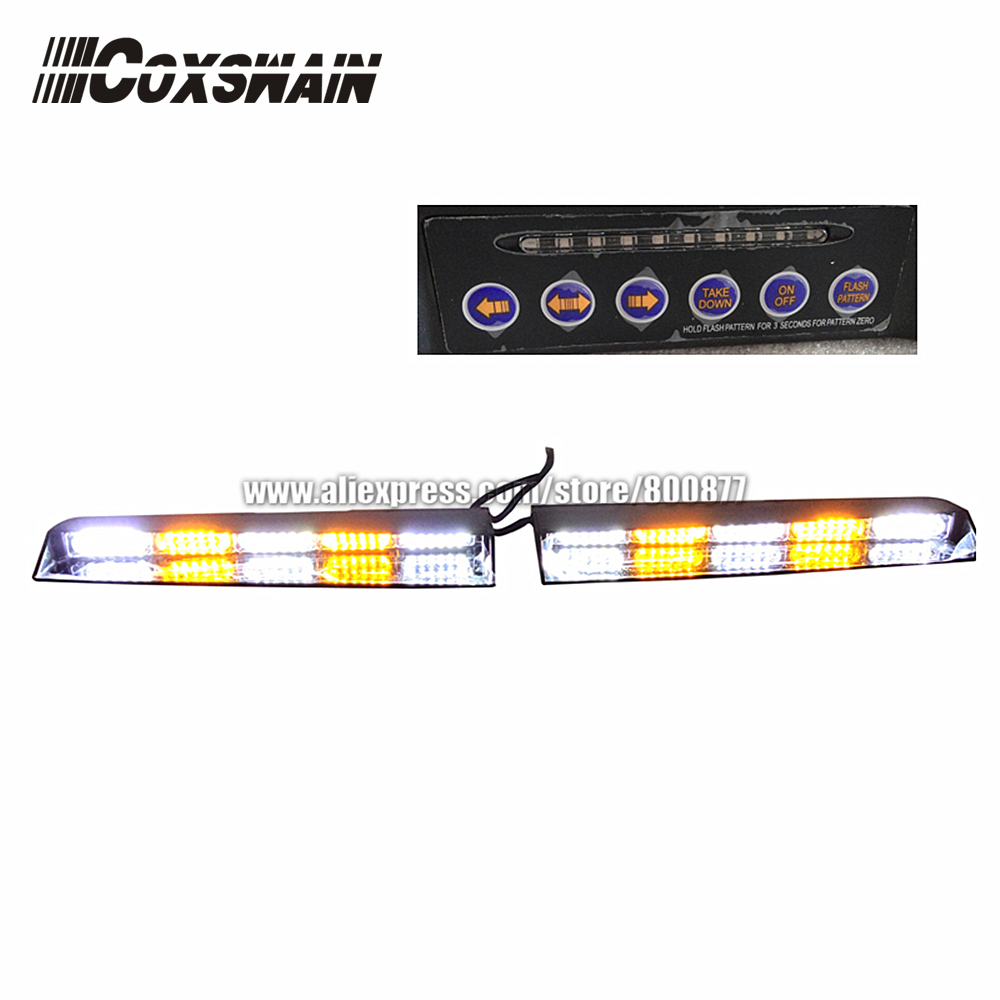 High Brightness LED Dash Lights, LED Visor Light, LED Interior Lightbar Emergency Warning Light, LED Windshield Light
