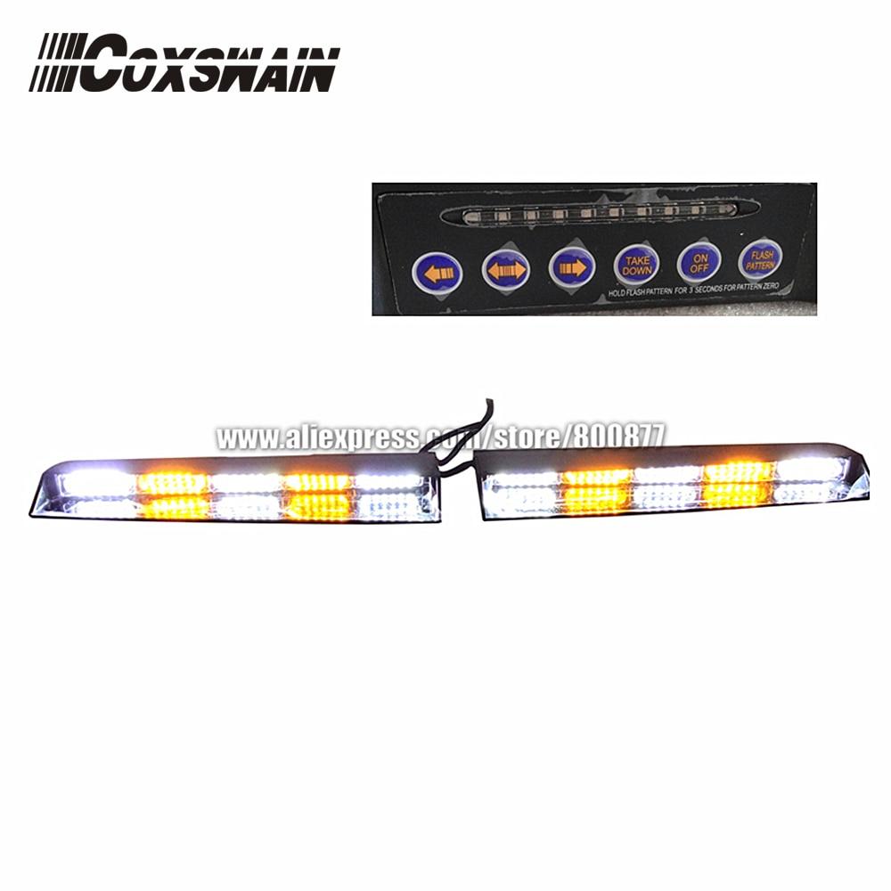 High Brightness LED Dash Lights, LED Visor Light, LED Interior Lightbar Emergency Warning Light, LED Windshield Light