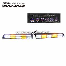 Luces de tablero LED de alto brillo, luz de visera LED, luz de advertencia de emergencia de barra de luz interior LED, luz de parabrisas LED