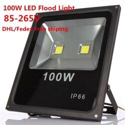 8 sztuk wodoodporna IP65 100 W High Power Led reflektor ciepły/zimny biały Led reflektor reflektor Led światło halogenowe w Reflektory od Lampy i oświetlenie na