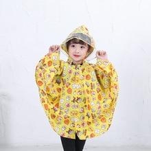 kids rainwear raincoat for children cloaks impermeable rain poncho capa de chuva Chubasqueros
