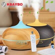 купить 300ml Aroma Diffuser Aromatherapy Wood Grain Essential Oil Diffuser Ultrasonic Cool Mist Humidifier for Office Home по цене 108.23 рублей