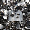 5 Sizes Black Diamond/Gray Color 5000 Pcs/Bag Nail Art Tips Crystal Glitter Rhinestones 3D Nail Art Decoration