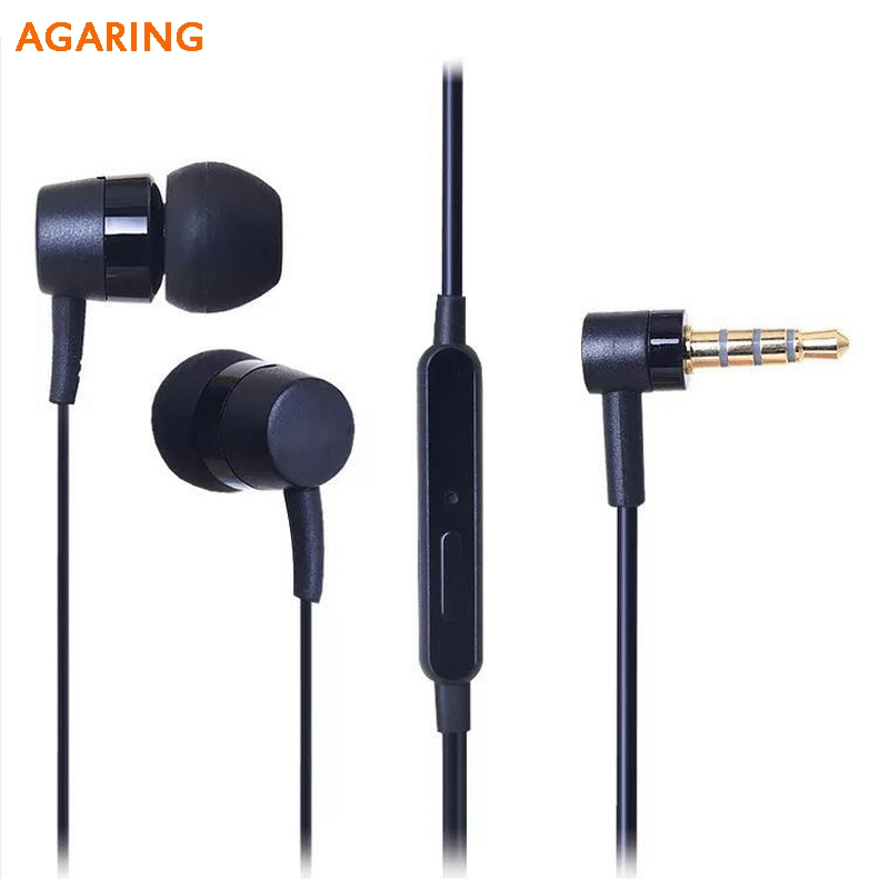 Original Headset MH750 For Sony Xperia XA2 Ultra XZ2 Premium E6883 Inear Earpieces Universal Sports with Remote Control Earphone in Phone Earphones Headphones from Consumer Electronics