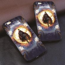 Doctor Strange phone case for samsung galaxy s4 s5 s6 s7 s7 & for iphone 4s 5 5c 5s 6 6 s 7 plus