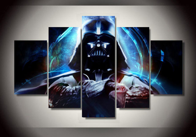 Star Wars Darth Vader Plakat 5 Sztuka Obraz Malarstwo Wall Art