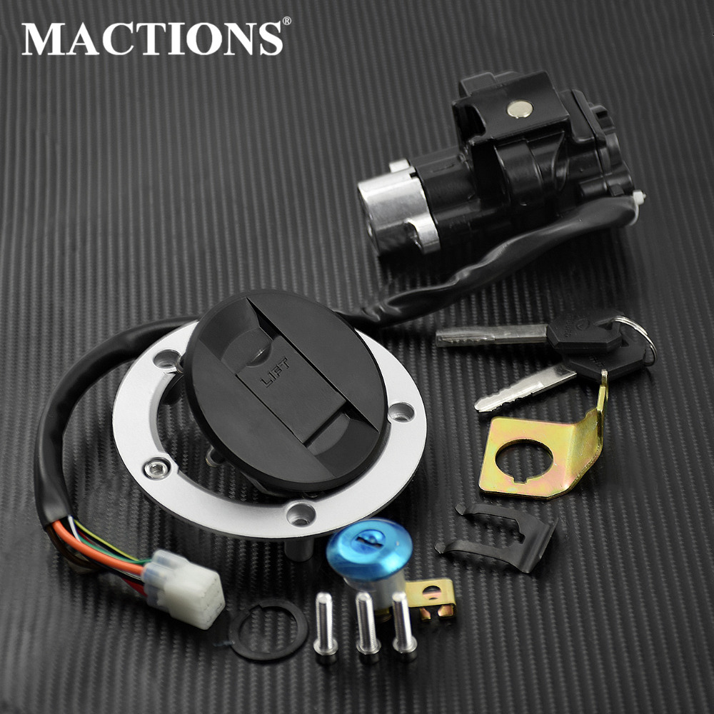 Motorcycle Ignition Switch Seat Gas Cap Lock For Suzuki SV650 08 12 For Suzuki DL650 V