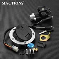 Motorcycle Ignition Switch Seat Gas Cap Lock For Suzuki SV650 08 12 For Suzuki DL650 V Strom 2012 2015 For Suzuki SV650 08 12