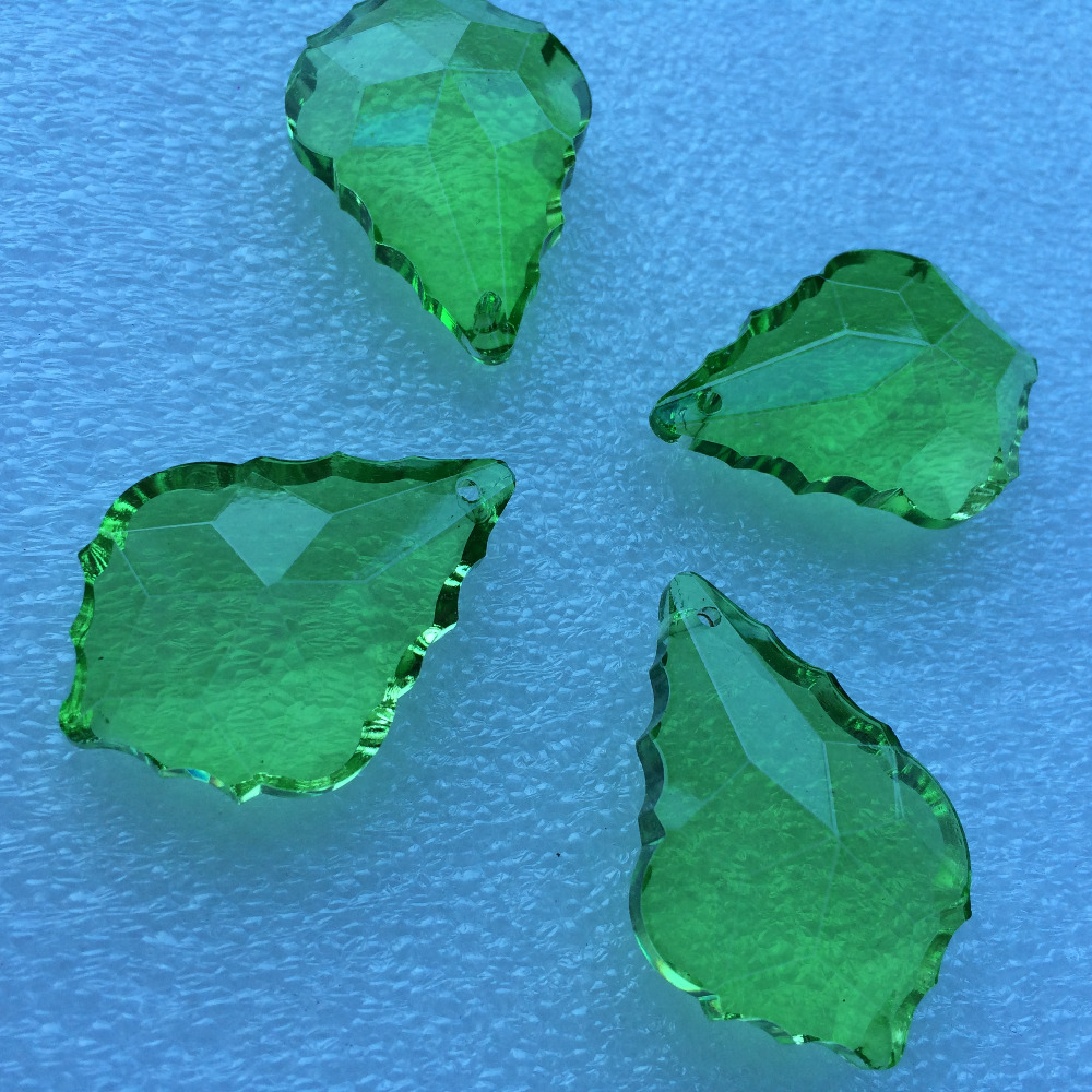 Free shipping 50pcslot 75cmm garland strand green glass crystal free shipping 50pcslot 75cmm garland strand green glass crystal lighting partscrystal cake topper crystal chandelier pendant in pendant drop ornaments arubaitofo Image collections