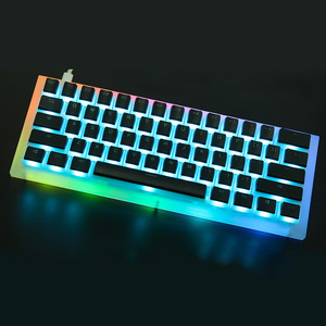 Image 3 - YMDK 108 PBT Double Shot Shine Through ANSI ISO OEM Profile Pudding Keyset For MX Mechanical Keyboard